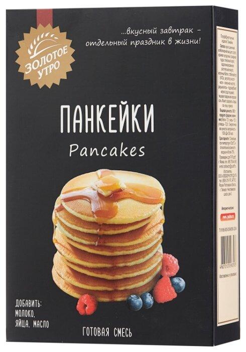 Золотое утро Мучная смесь Панкейки, 0.3 кг