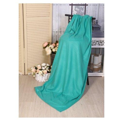 Плед Текстильная лавка 130х150 см, зеленый