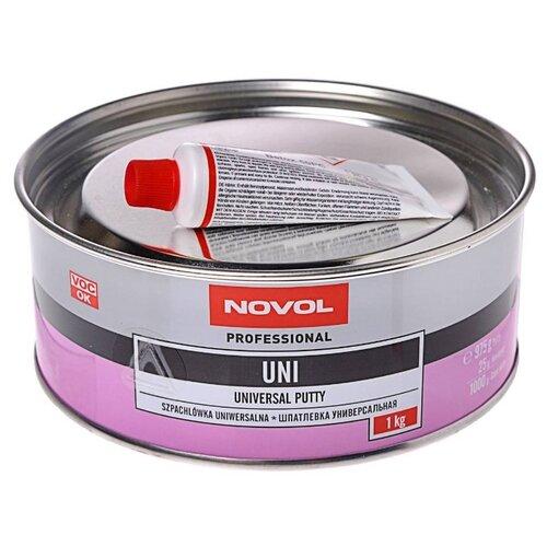 Комплект (шпатлевка, отвердитель) NOVOL UNI 1 кг