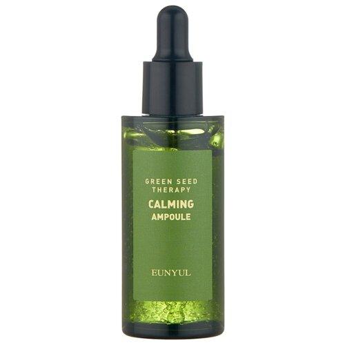 Купить Eunyul Green Seed Therapy Calming Ampoule Ампульная успокаивающая сыворотка для лица, 50 мл