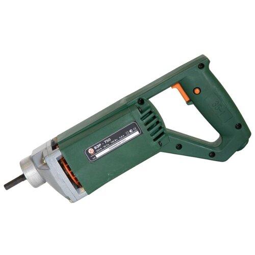 Электрический привод глубинного вибратора КАЛИБР ВЭР-750 зеленый
