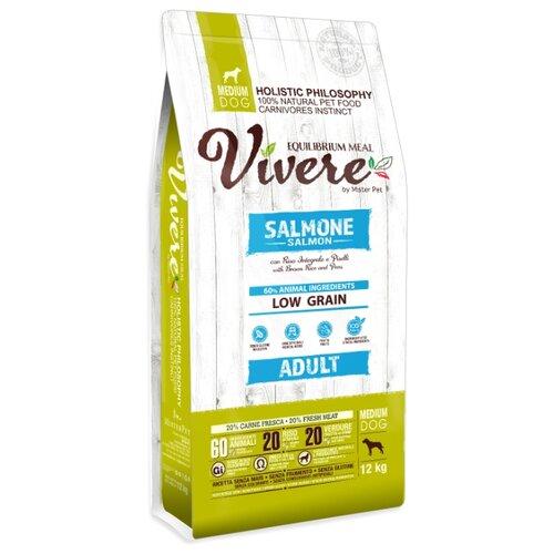 Сухой корм для собак Vivere лосось 12 кг (для средних пород)