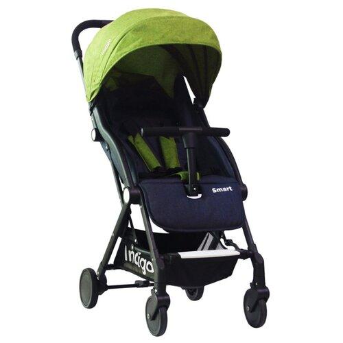 Прогулочная коляска Indigo Smart зеленый, Коляски  - купить со скидкой