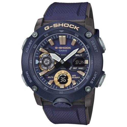 Наручные часы CASIO GA-2000-2A casio часы casio ga 110nc 2a коллекция g shock
