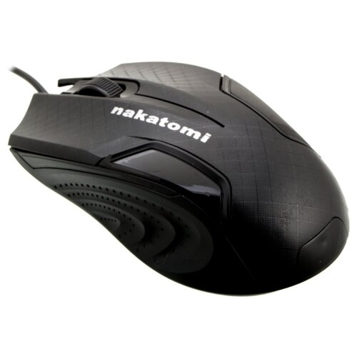 Мышь NAKATOMI MON-06U Black USB черный колонка nakatomi fs 10