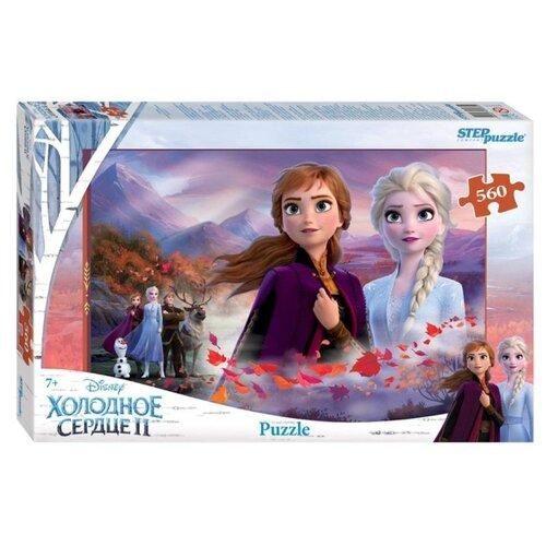 Купить Пазл Step puzzle Disney Холодное сердце - 2 (97075), 560 дет., Пазлы