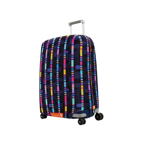 Чехол для чемодана ROUTEMARK «Стробоскоп» ART.LEBEDEV SP500 M/L M/L, синий