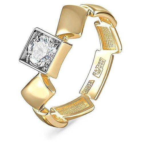 Фото - KABAROVSKY Кольцо с 1 бриллиантом из жёлтого золота 1-2499-1000, размер 16.5 kabarovsky кольцо с 1 бриллиантом из жёлтого золота 11 2999 1000 размер 18