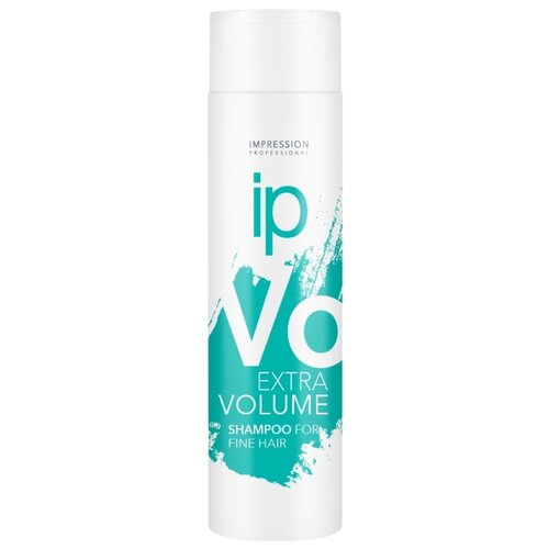 Impression шампунь Extra Volume для придания объема тонким волосам 250 мл шампунь с молочком миндаля для придания объёма тонким волосам 200мл klorane volume plump