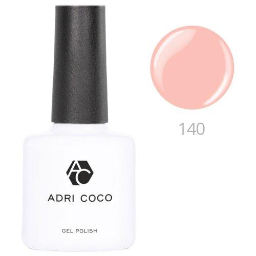 Гель-лак для ногтей ADRICOCO Gel Polish, 8 мл, оттенок 140 бледно-персиковый
