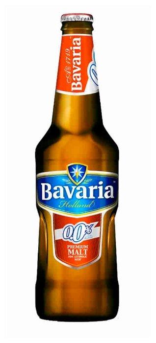 Пивной напиток безалкогольный светлый Bavaria Malt 0,5 л