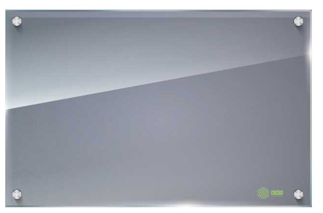 Доска стеклянная маркерная cactus CS-GBD-65x100-TR (65х100 см)