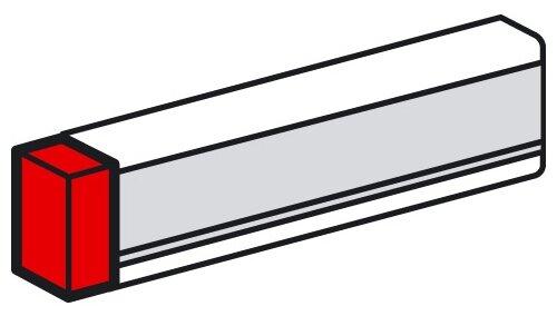 Заглушка для настенного кабель-канала Legrand 638035