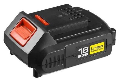 Аккумулятор ЗУБР АКБ-18-Ли 15М2 Li-Ion 18 В 1.5 А·ч — цены на Яндекс.Маркете