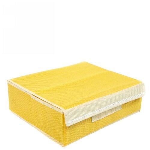 Удачная покупка Коробка для хранения RYP98 желтый/белый