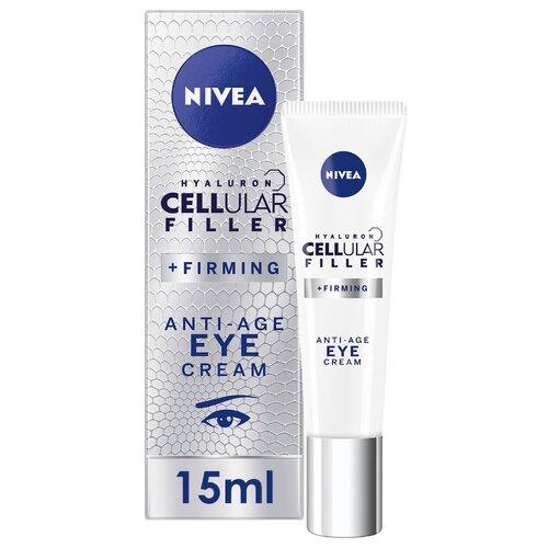 крем Nivea Hyaluron Cellular Filler вокруг глаз 15 мл крем nivea hyaluron cellular filler ночной 50 мл