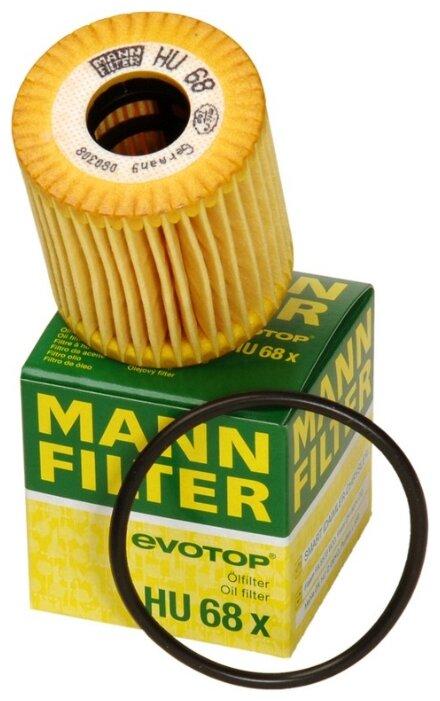 Фильтрующий элемент MANNFILTER HU68X