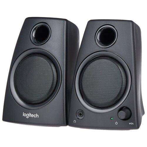 Компьютерная акустика Logitech Z-130 черный