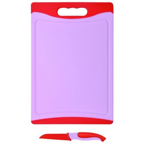 Разделочная доска Bohmann BH 5212 29х20х0,8 см красный