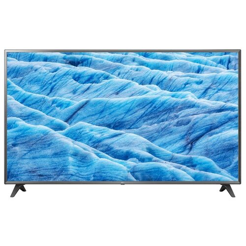 Фото - Телевизор LG 75UM7110 75 (2019) черный/металлик телевизор