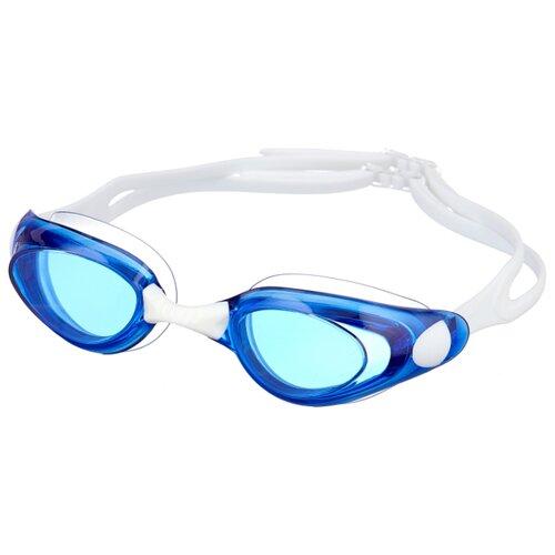Фото - Очки для плавания ATEMI B401/B402/B403 белый/синий one size очки маска для плавания atemi z401 z402 синий серый