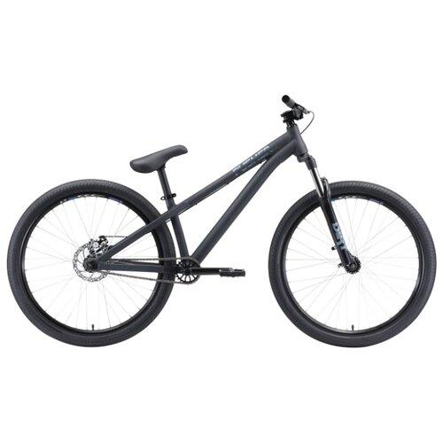Горный (MTB) велосипед STARK Pusher 2 (2020) черный/серый S (требует финальной сборки)