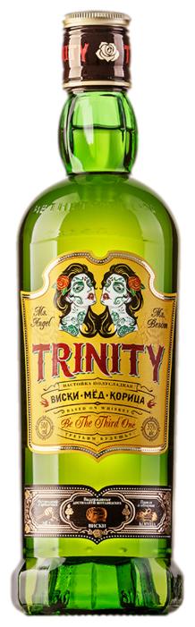 Настойка Trinity Мёд корица, 0,5 л