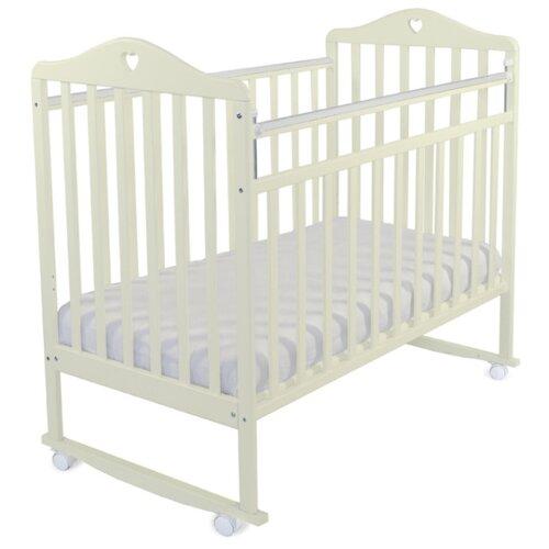 Кроватка Альма-няня Катарина (качалка), на полозьях бежевый