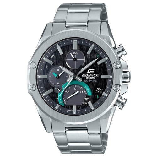 Часы CASIO EDIFICE EQB-1000D-1A серебристый casio eqb 700l 1a