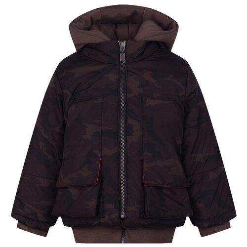 Купить Куртка Lapin House размер 92, зеленый, Куртки и пуховики