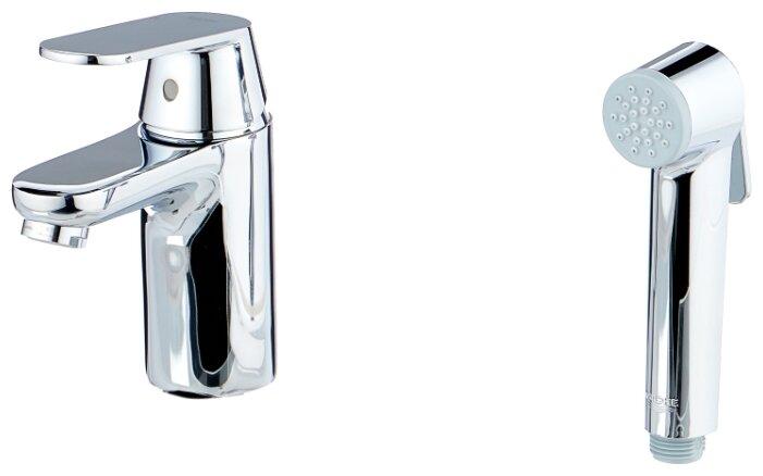Смеситель для раковины (умывальника) Grohe Eurosmart Cosmopolitan 23125000 однорычажный лейка в комплекте хром