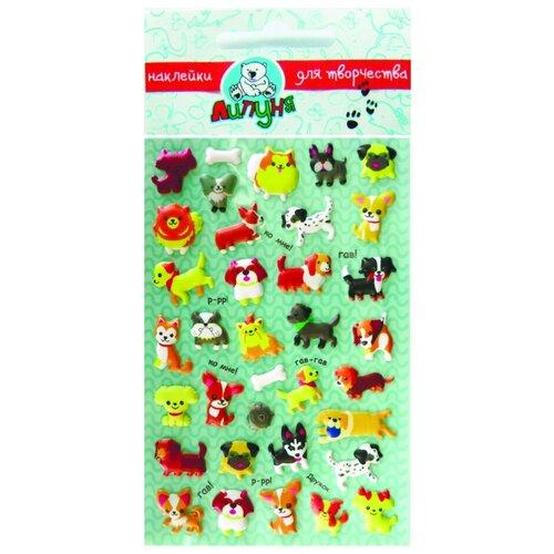 Купить Зефирные наклейки Собаки-2 , Липуня, Наклейки