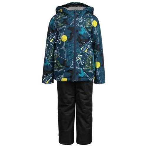 Купить Комплект с полукомбинезоном Oldos размер 92, синий/голубой, Комплекты верхней одежды