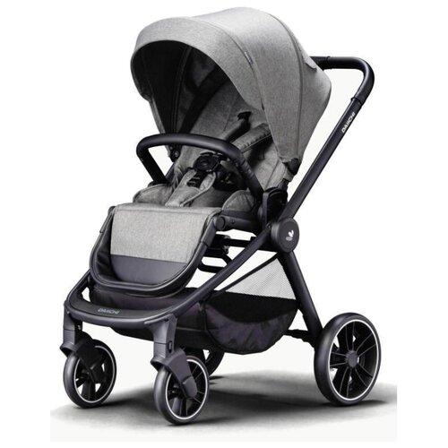 Прогулочная коляска Daiichi Allee misty grey/black, цвет шасси: черный
