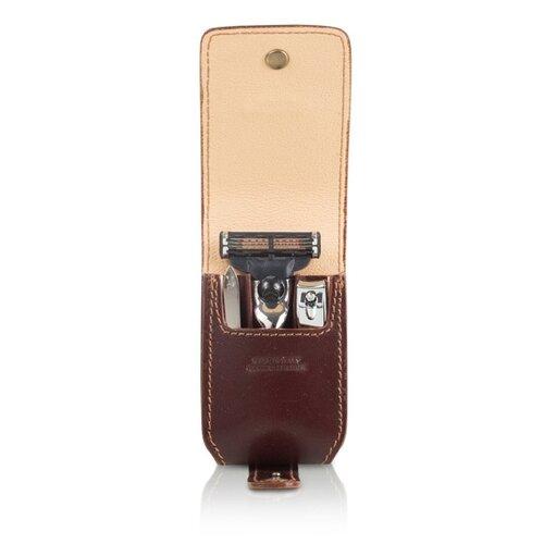 Набор MONDIAL SV-075-MIN-M дорожный чехол, пинцет, книпсер, бритвенный станок (Mach 3) edwin jagger дорожный бритвенный набор rt10m3