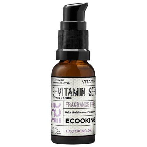 Ecooking Vitamin E Serum Сыворотка для лица с витамином E, 20 мл