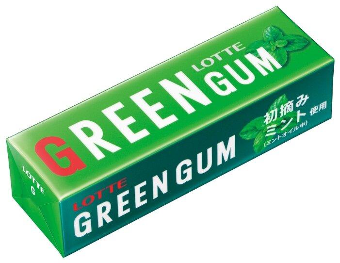 Жевательная резинка Lotte Confectionery Green Gum, 26г