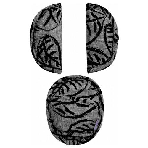 Купить DOOKY- XPLORYS Комплект накладок на ремни безопасности Leaves grey leaves, Аксессуары для колясок и автокресел
