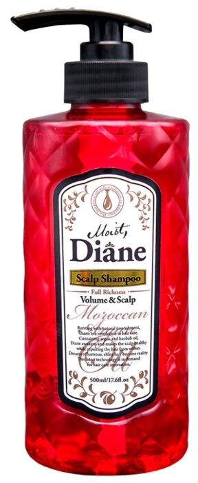Moist Diane шампунь Volume & Skalp бессиликоновый