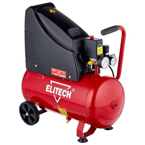 цена на Компрессор безмасляный ELITECH КПБ 190/24, 24 л, 1.5 кВт