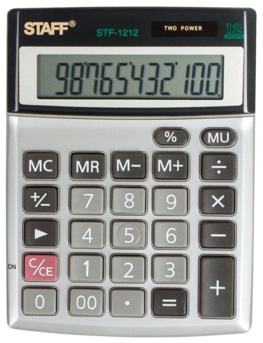 Калькулятор бухгалтерский STAFF STF-1212