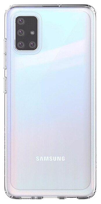 Чехол (клип-кейс) SAMSUNG araree A cover, для Samsung Galaxy A51, черный [gp-fpa515kdabr]