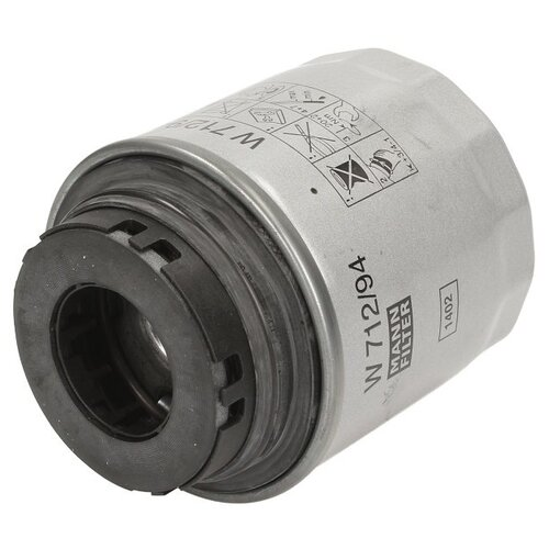 Масляный фильтр MANNFILTER W 712/94 масляный фильтр mannfilter w 712 4