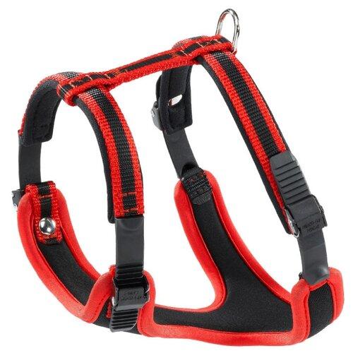 Шлейка Ferplast Ergocomfort P S, обхват шеи 32-42 см, красный шлейка ferplast hercules p s обхват шеи 39 47 см черный