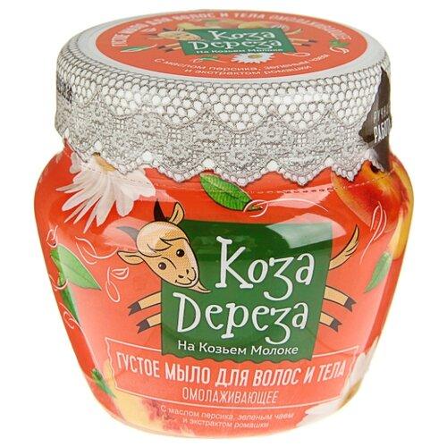 Купить Густое мыло для волос и тела Fito косметик Коза Дереза Омолаживающее, 175 мл