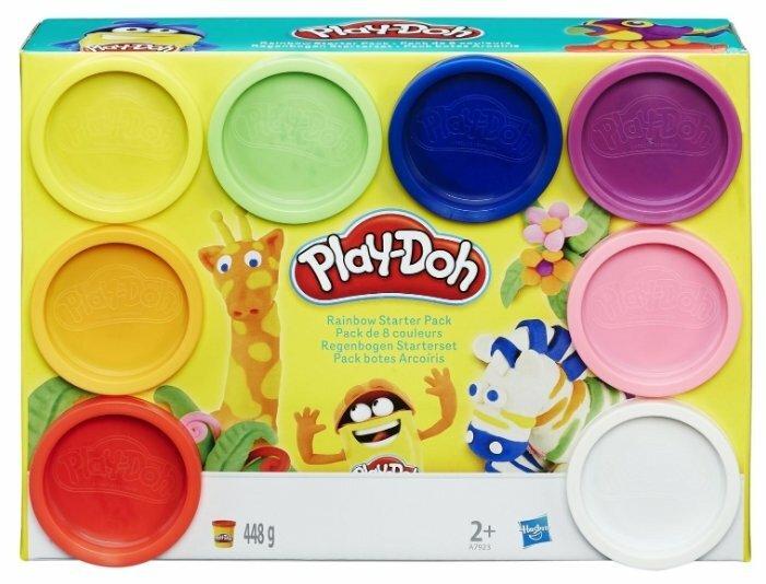 Масса для лепки Play-Doh Набор 8 банок (A7923)
