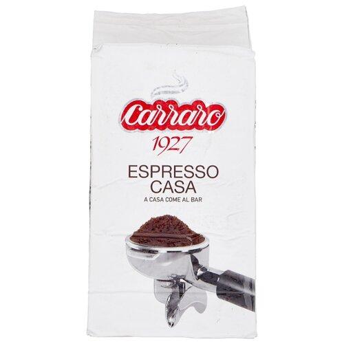 Фото - Кофе молотый Carraro Espresso Casa, 250 г кофе молотый carraro india 250 г