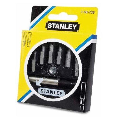 Набор бит STANLEY (7 предм.) 1-68-738 черный/серебристый