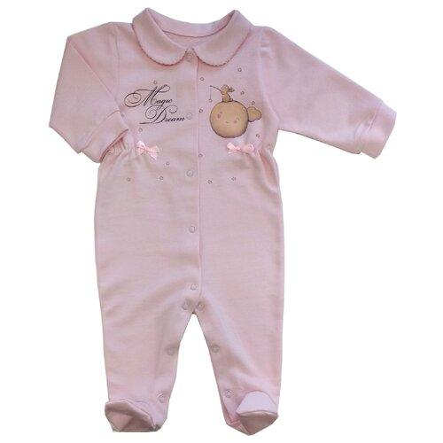 Купить Комбинезон СовёнокЯ размер 44-68, розовый, Комбинезоны