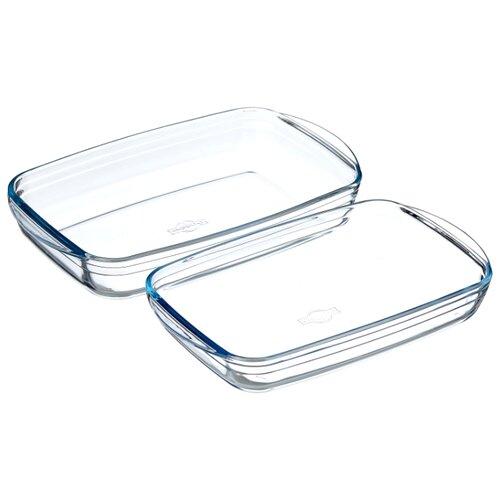 Форма для запекания стеклянная Pyrex 334SA05, 2 шт.